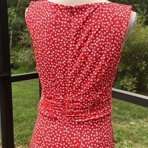 18fcd45564db Jessica Howard Dresses - Jessica Howard Red White Polka Dot Sundress Size 8